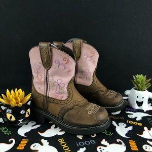Justin Esmerelda Boots Gypsy Leather Sz.11D